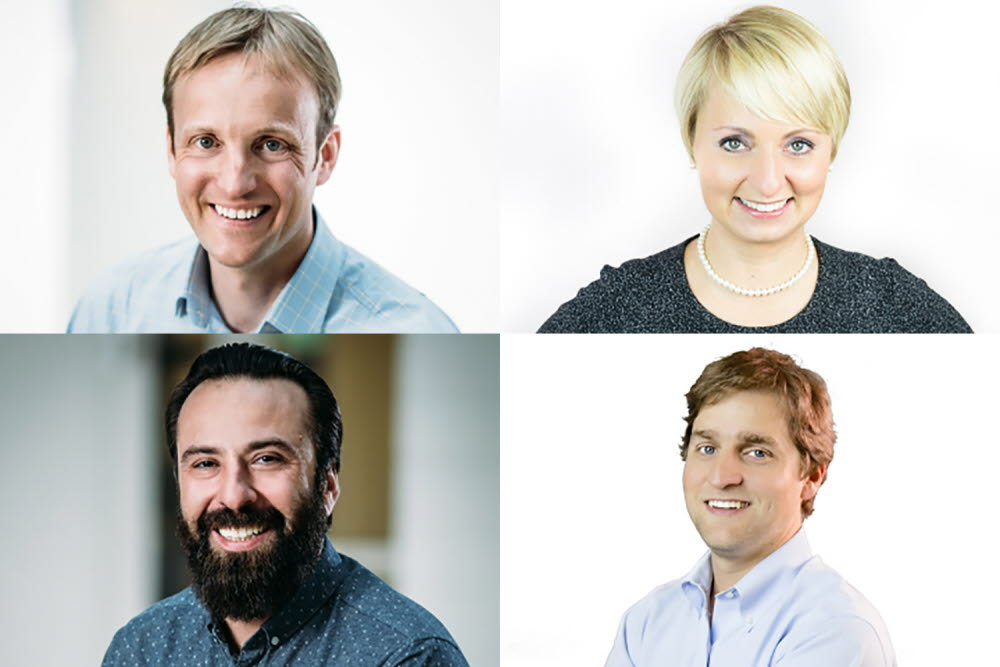 Tobii Pro Executives headshot collage
