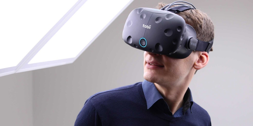 Tobii Pro VR Integration based on HTC Vive HMD for behavioral research