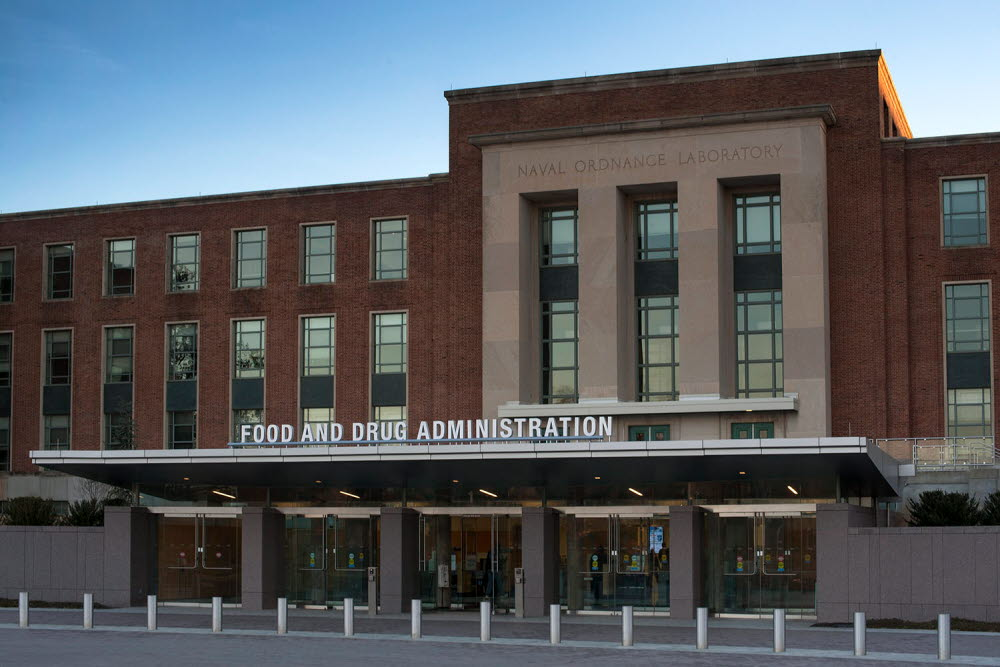 The FDA building